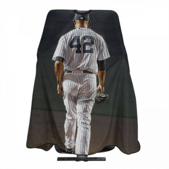 Soft New York Yankees Haircut apron 55*66 in #179220 chemical resistant, protect your clothes clean.